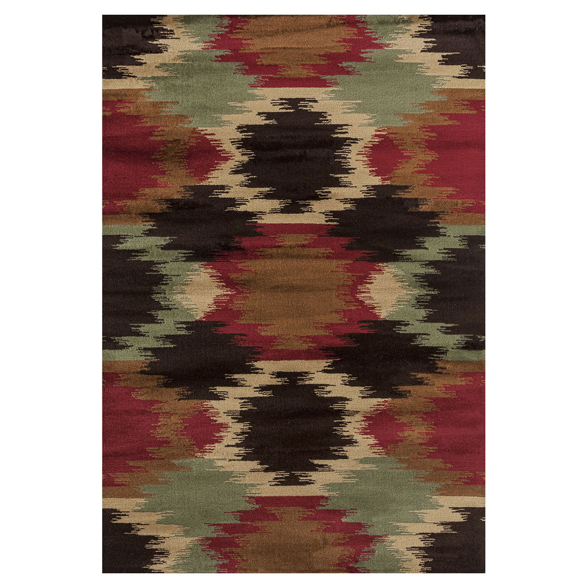 Southwest Watercolor Rug - 2 x 3