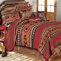 Southwestern Cibola Bed Set - King