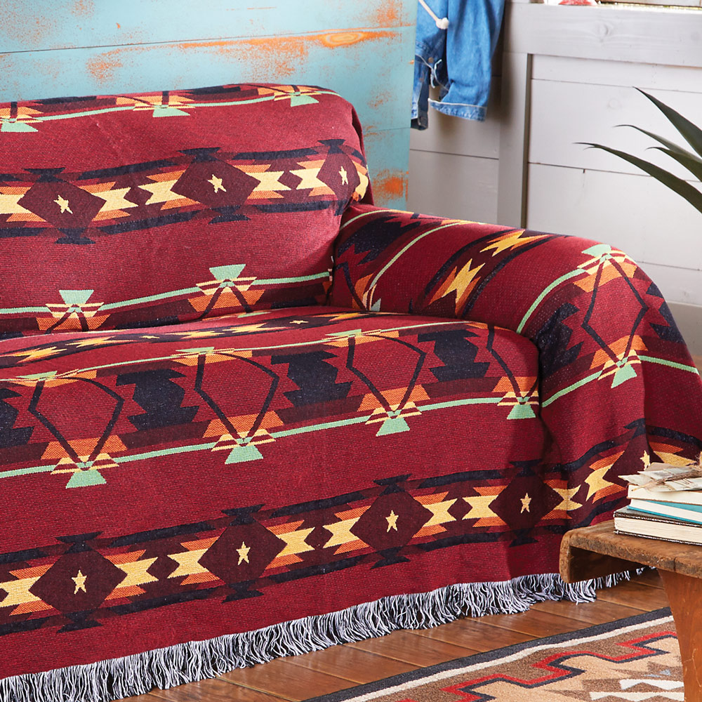 Southwestern Flame Chair Cover