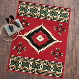 Southwestern Plateau Red Rug Collection