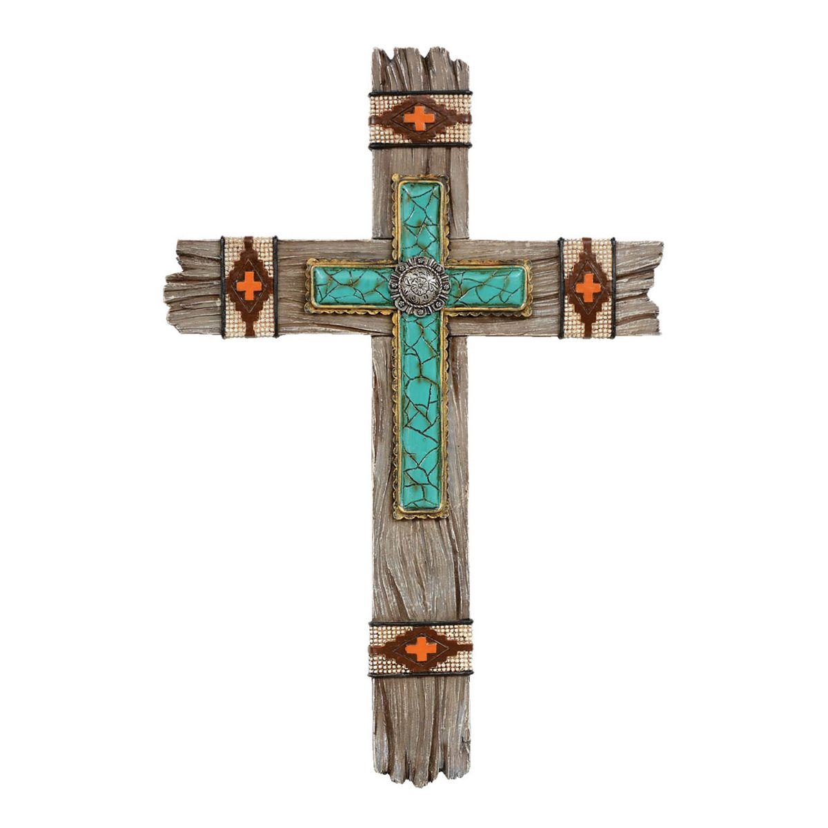 Western Crosses Southwestern Wall Cross