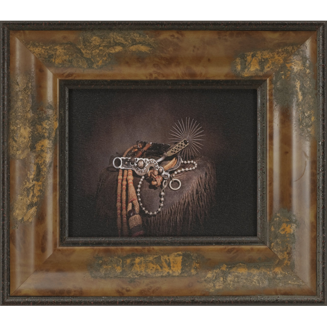 Spade and Spur Framed Wall Art