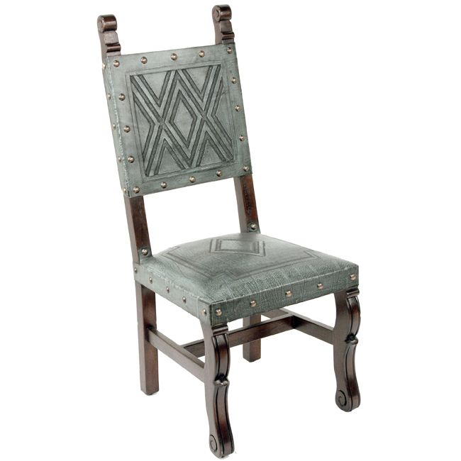 Spanish Heritage Chair - Turquoise