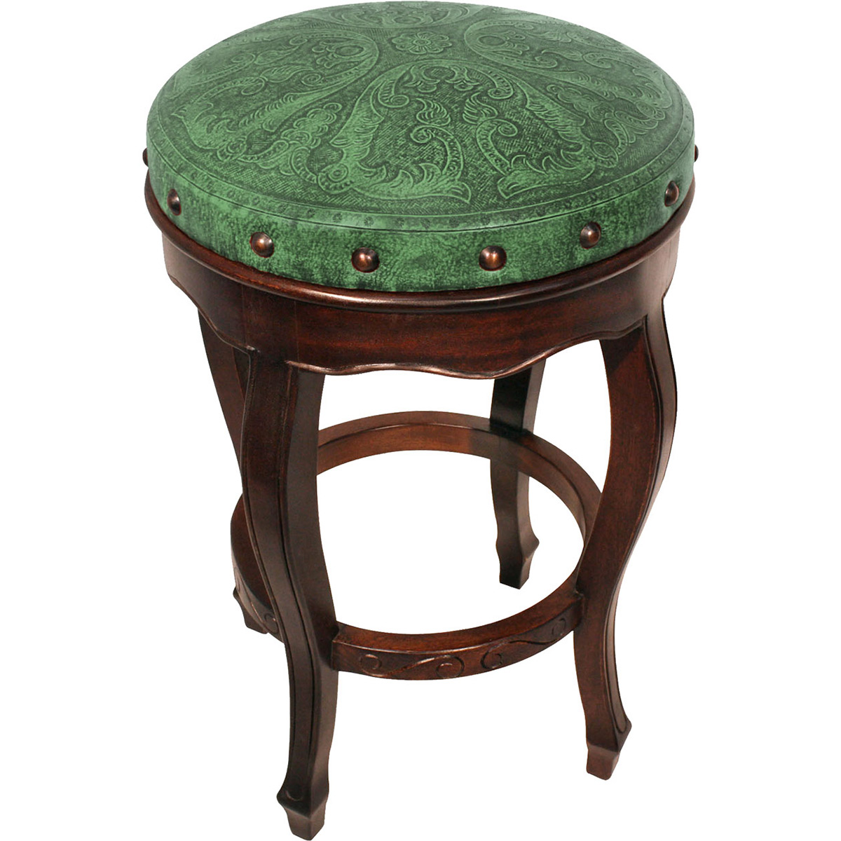 Spanish Heritage Counter Stool - Colonial Green