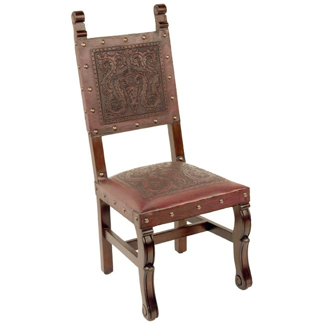Spanish Heritage Red Chair - Set of 6