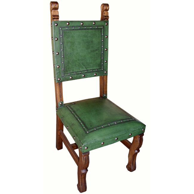 Spanish Heritage Sage Chair - Set of 6