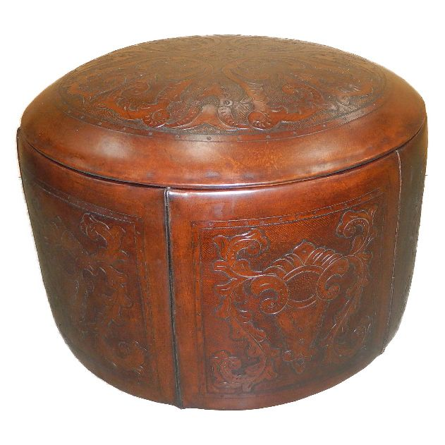 Special Edition Round Ottoman