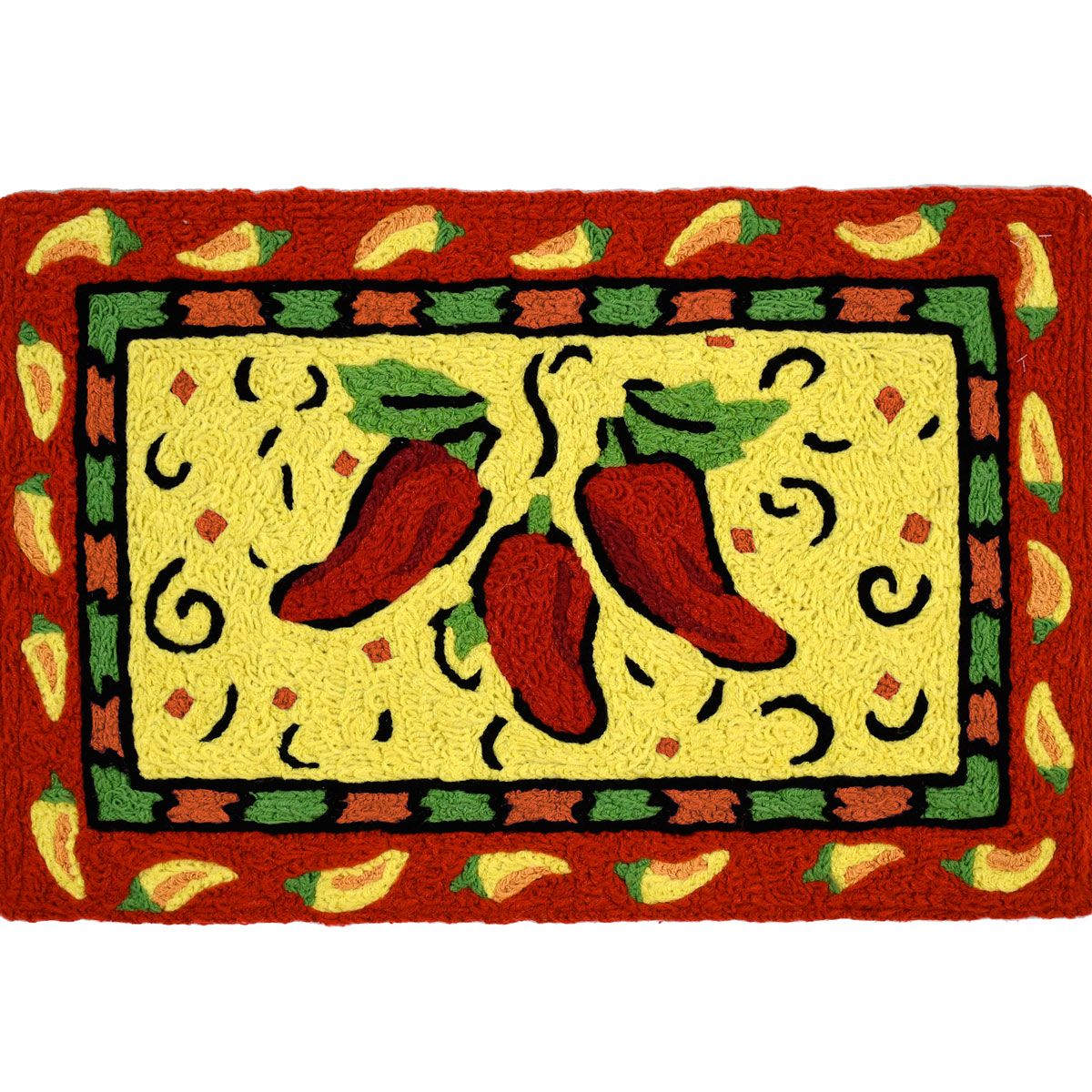 Spicy Peppers Indoor/Outdoor Rug