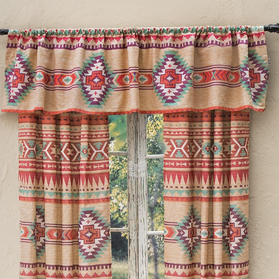 Spirit Canyon Lined Valance