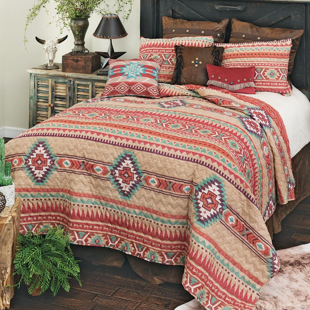 Spirit Canyon Quilt Set - King