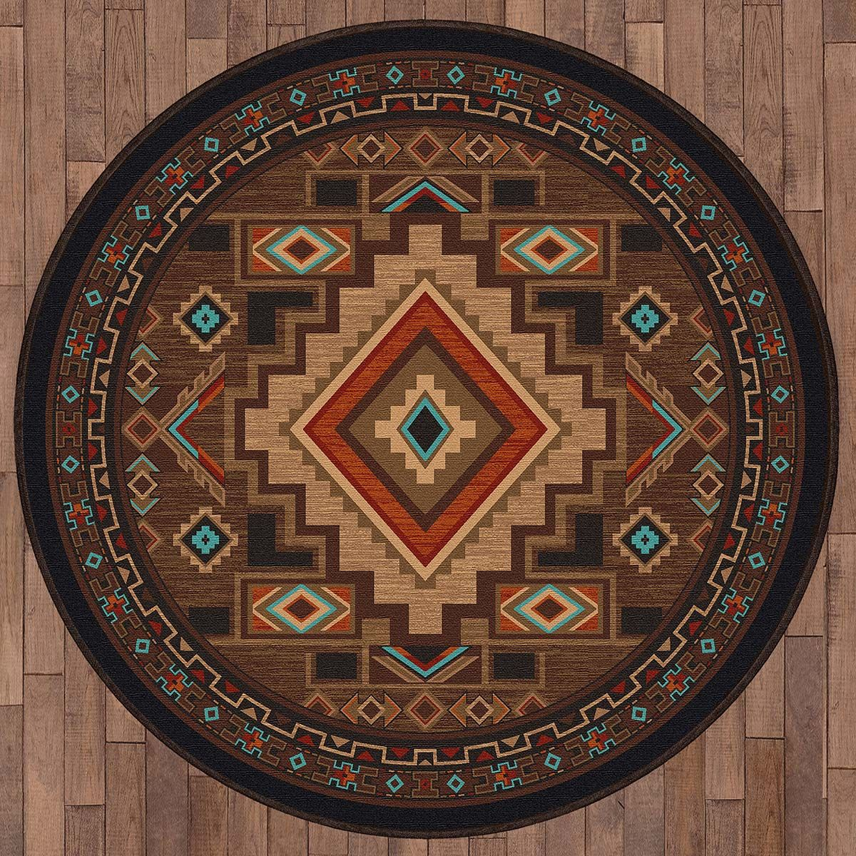 Spirit Canyon Rug - 8 Ft. Round