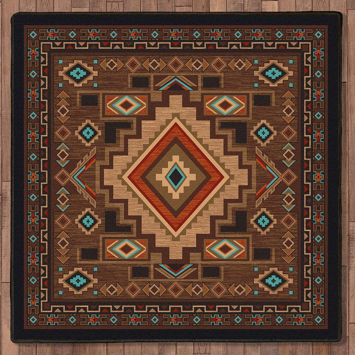 Spirit Canyon Rug - 8 Ft. Square