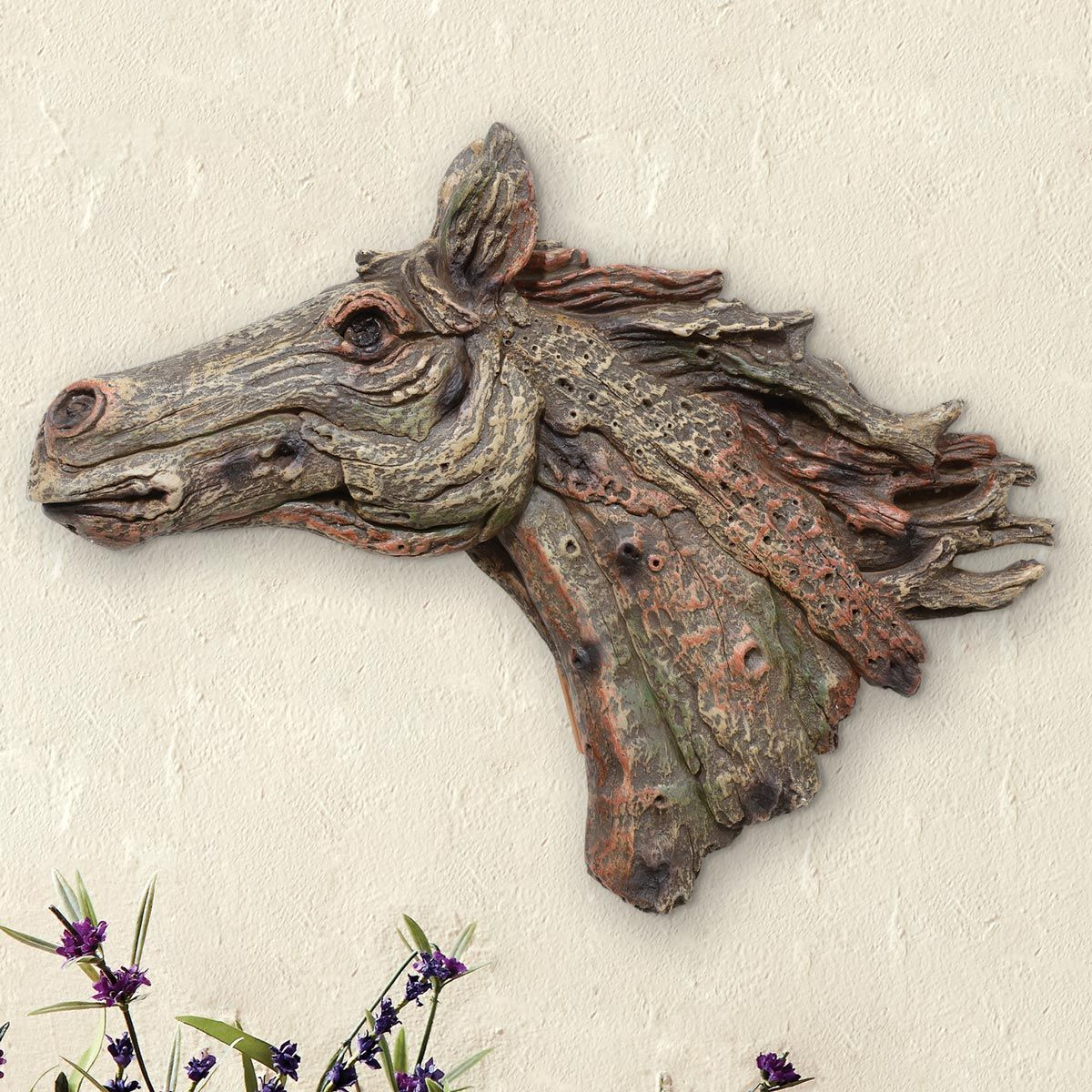 Spirit of the Horse Wall Sculpture - CLEARANCE