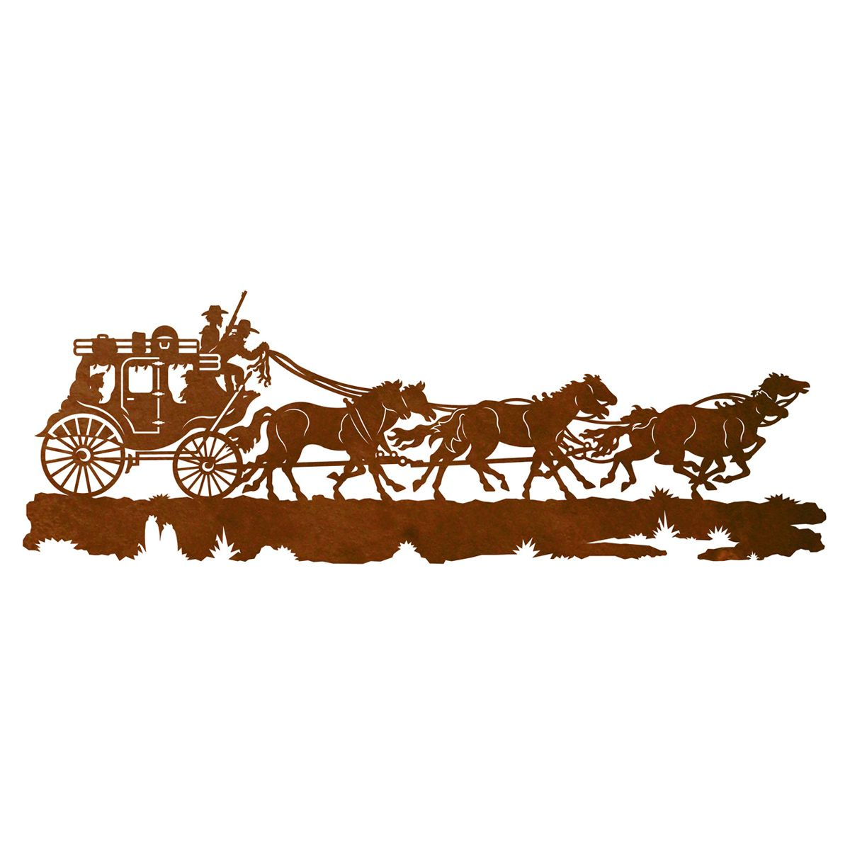 Stagecoach Wall Art - 42 Inch