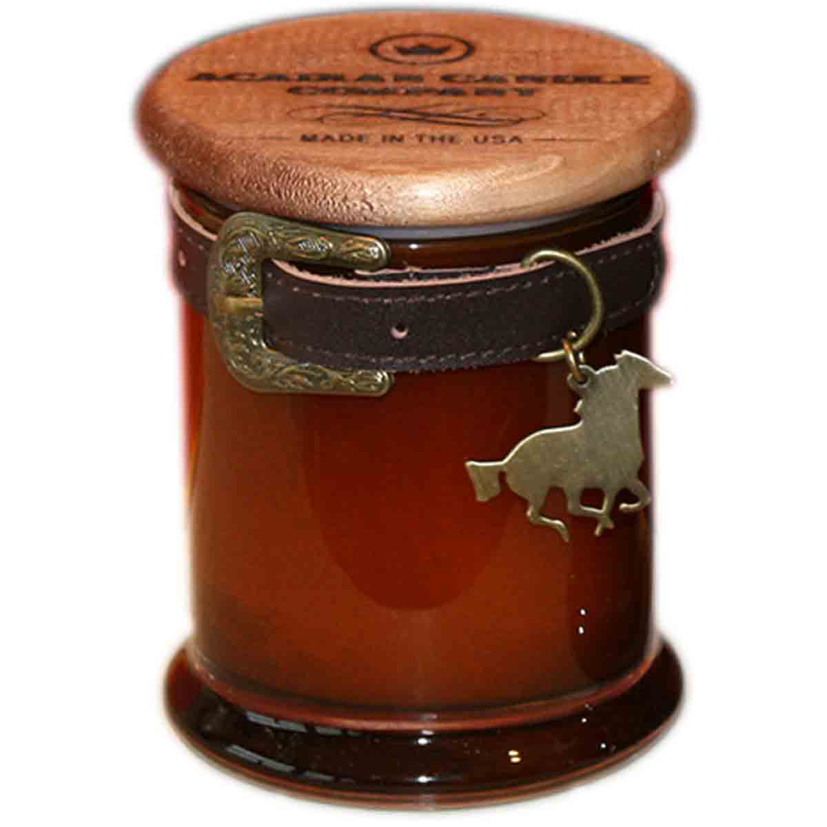 Stallion Belt Candle - Oakmoss and Tobacco Scent