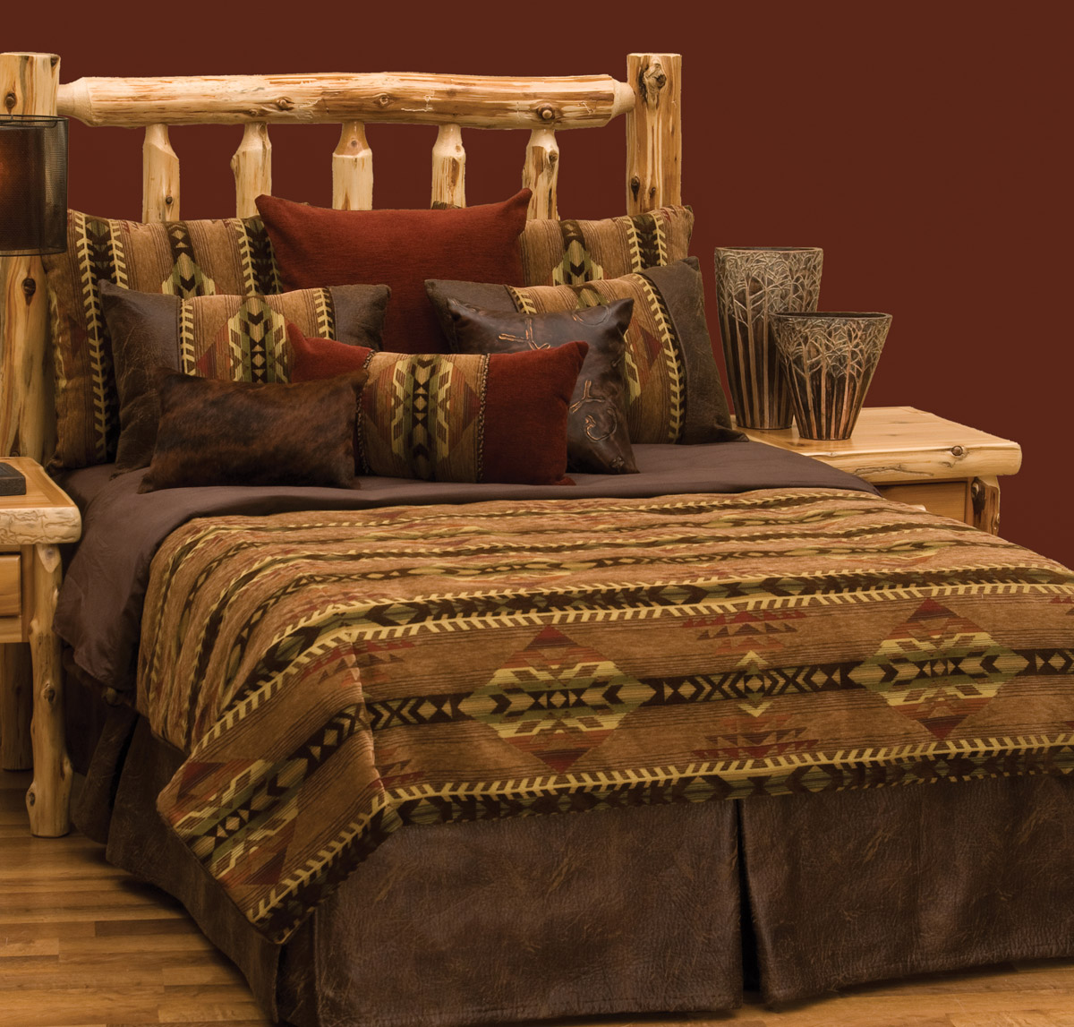 Stampede Deluxe Bed Set - Super King