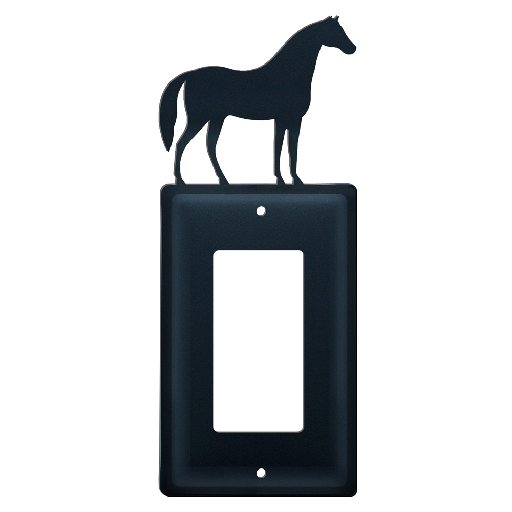 Standing Horse Single GFI Cover
