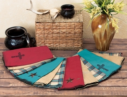 Star and Cross Kitchen Towel Sets - 3 pcs