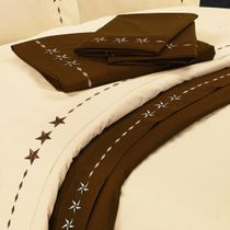 Star Chocolate Sheet Set - Queen