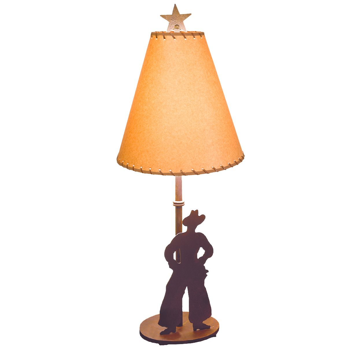 Star & Cowboy Table Lamp