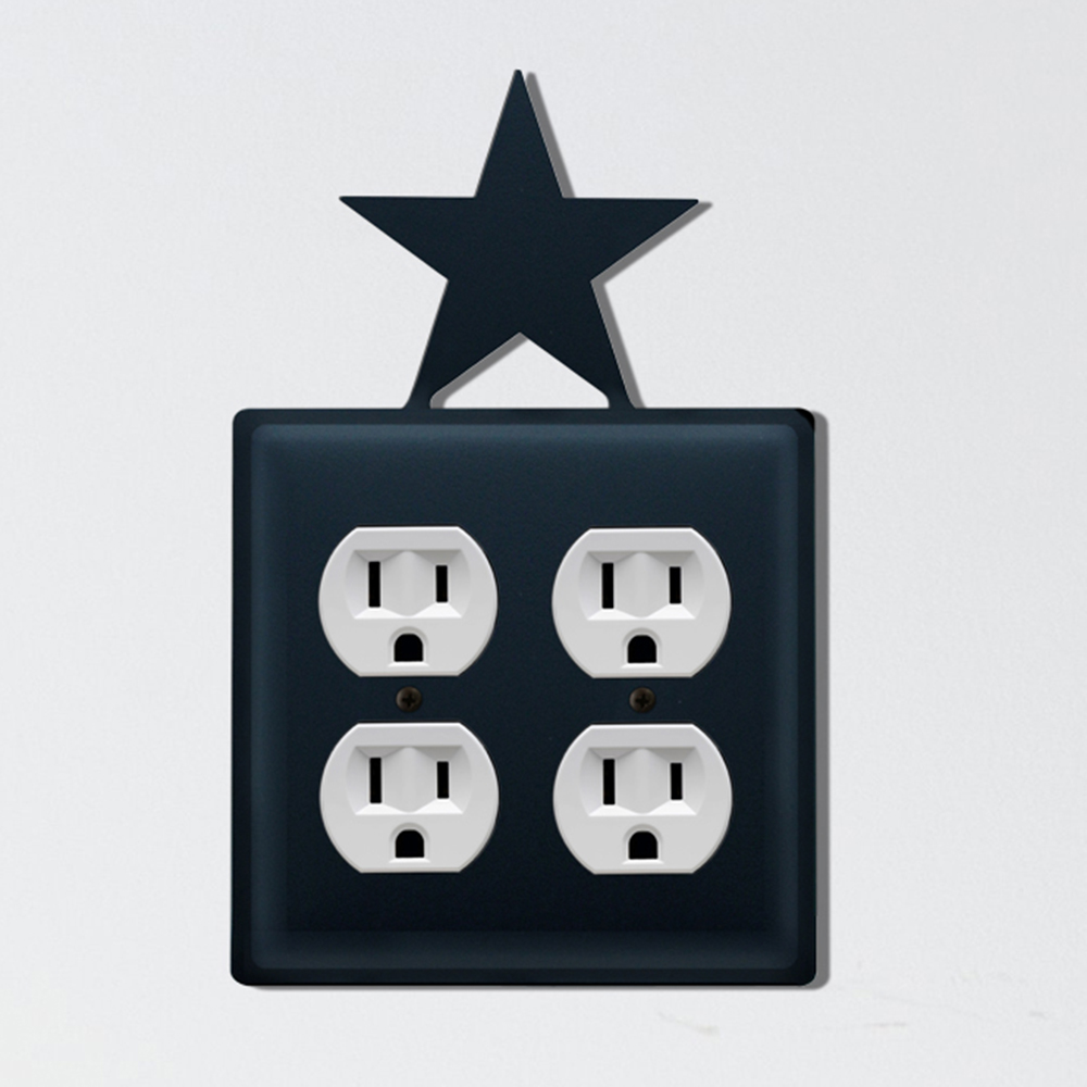 Star Double Outlet Cover