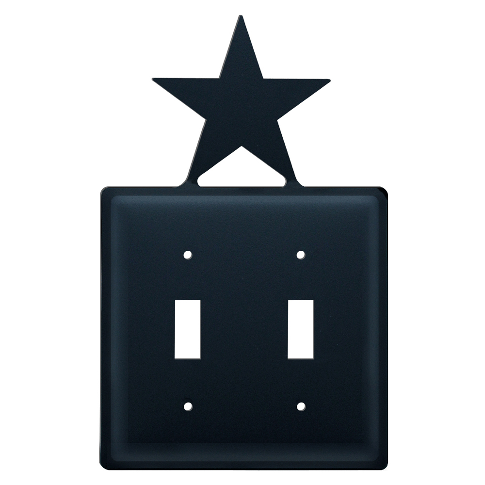 Star Double Switch Cover