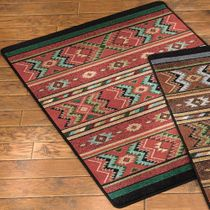 Star Eagle Terracotta Rug - 3 x 4
