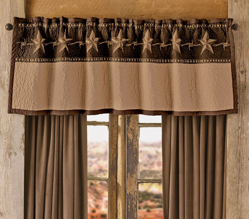 Star Ranch Valance