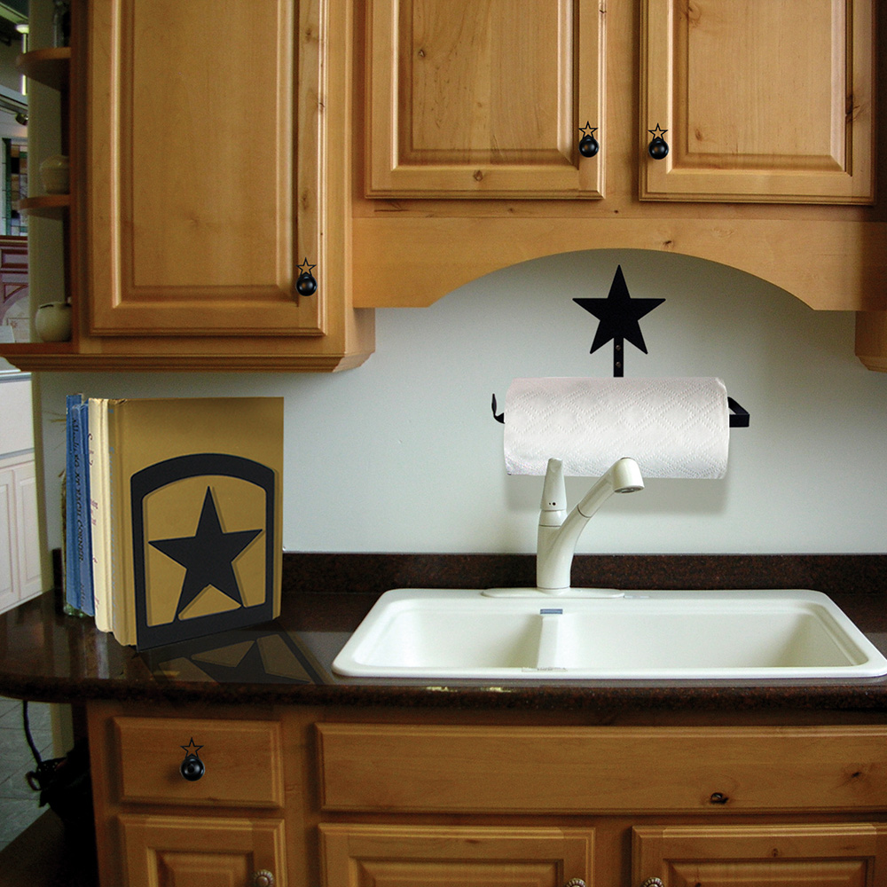 Star Silhouette Bookends