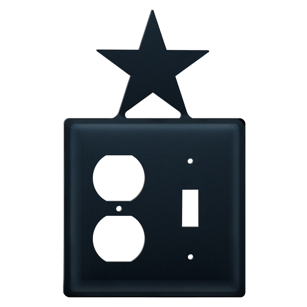 Star Single Outlet and Switch Cover