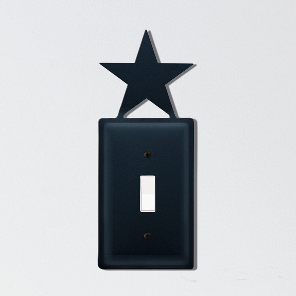 Star Single Switch Cover
