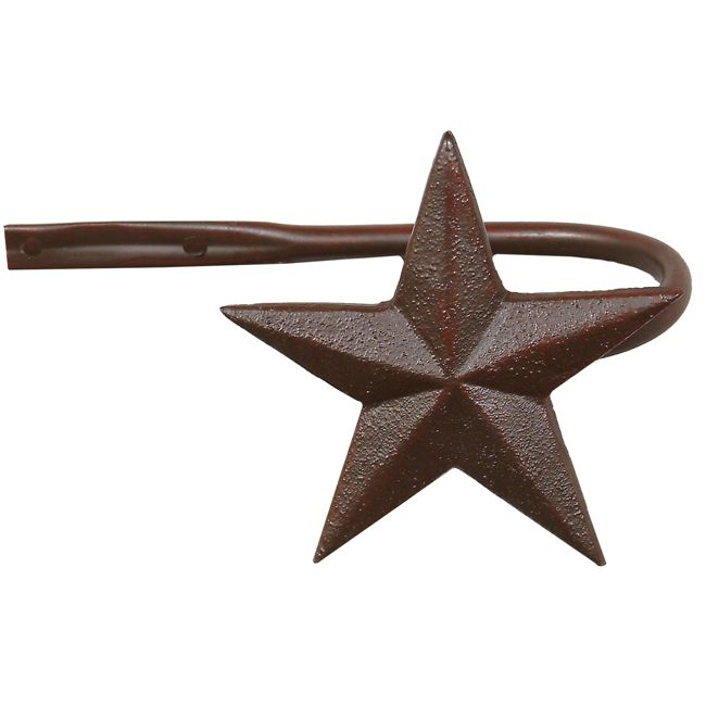 Star Tiebacks - Set of 2