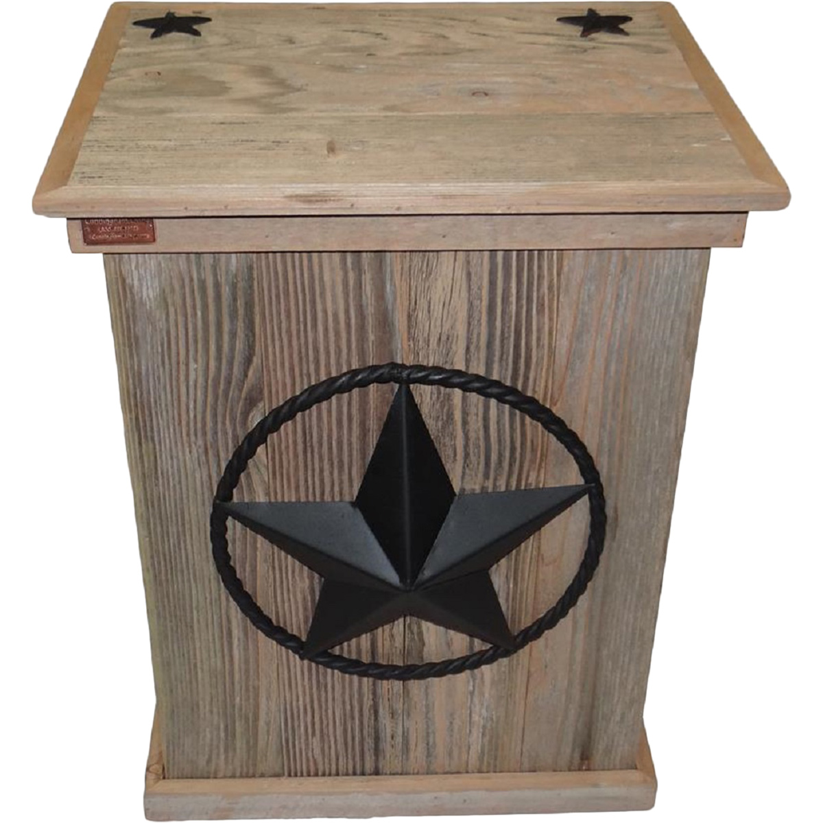 Star Trash Container