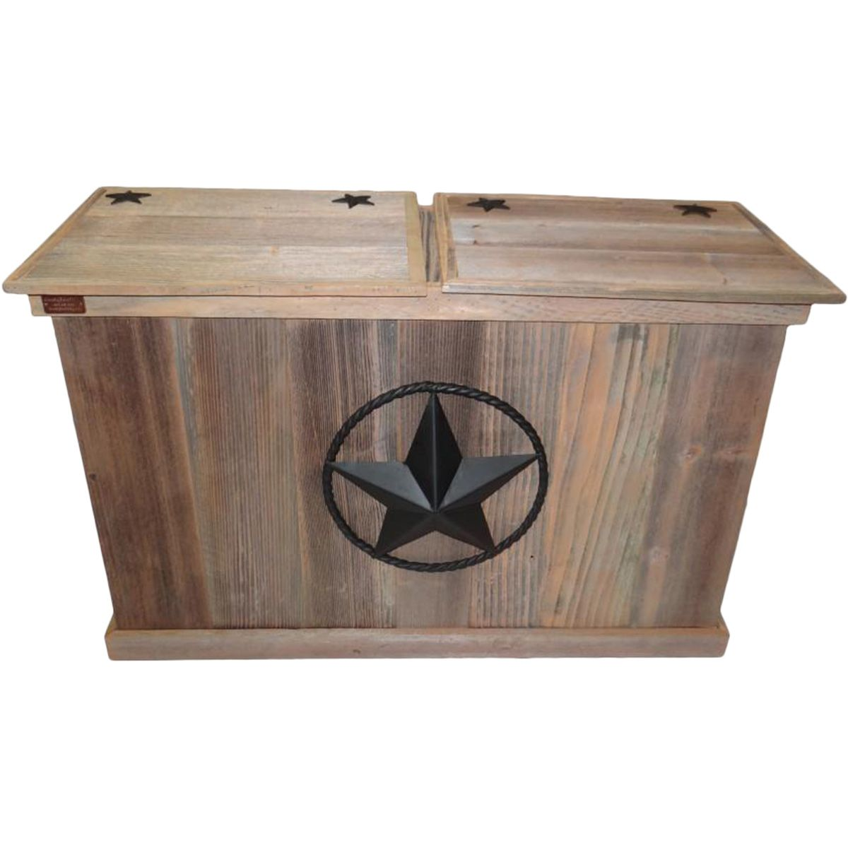 Star Trash & Recycling Container