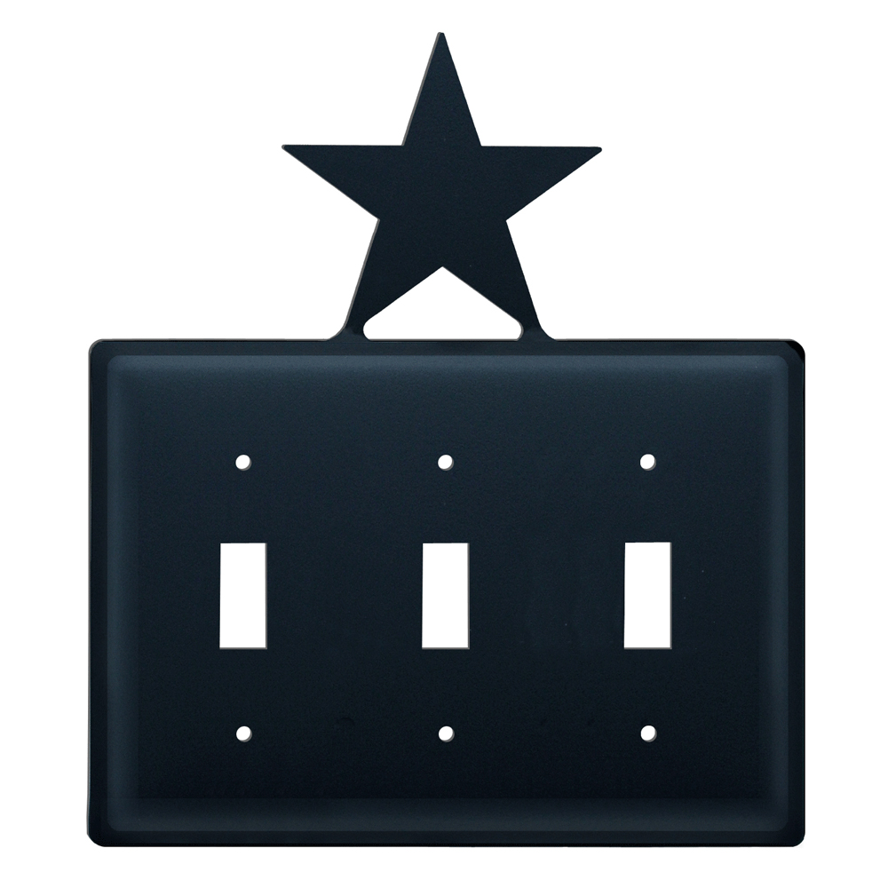 Star Triple Switch Cover