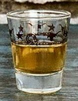 Stars & Longhorns Jigger Glasses - Set of 4