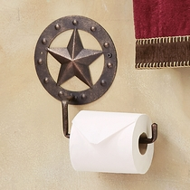 Stars & Studs Metal Toilet Paper Holder