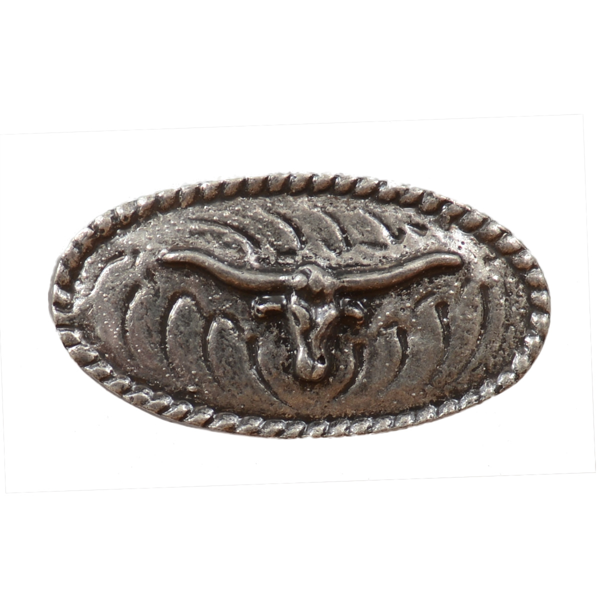 Steer Oval Cabinet Pull