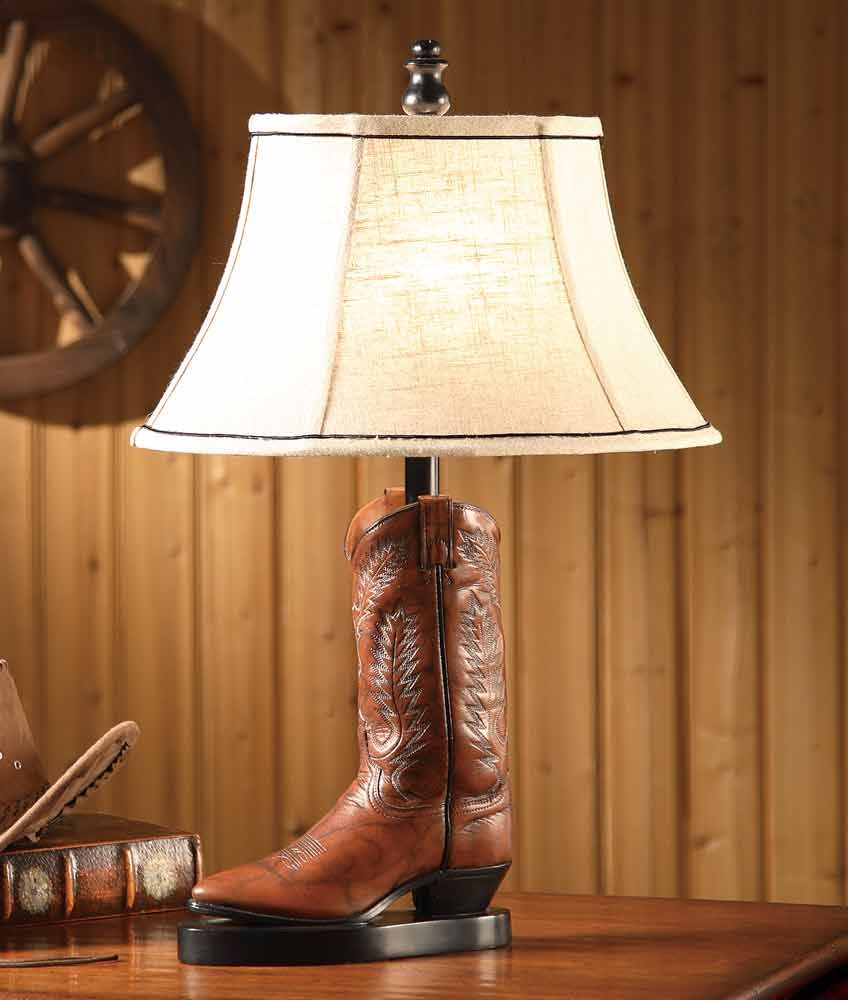 Stetson Boot Table Lamp