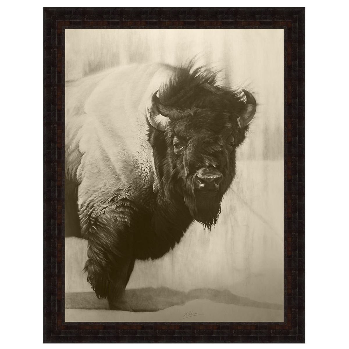 Stoic Bison Wall Art
