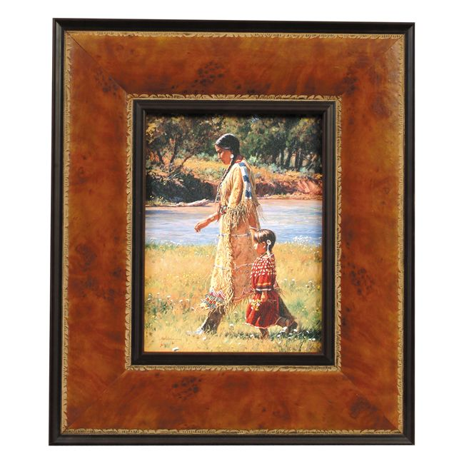Summer on the Greasy Grass Framed Print