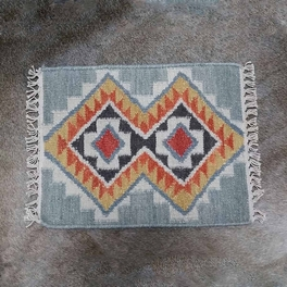 Summer Sky Kilim Placemat