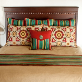 Sundance Turquoise Festiva Pillows and Shams