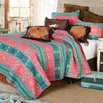 Sundown Sky Quilt Set - Queen