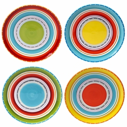 Sunrise Stripes Dinnerware Collection