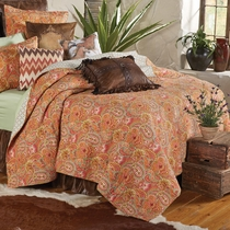 Sunset Range Quilt - Queen
