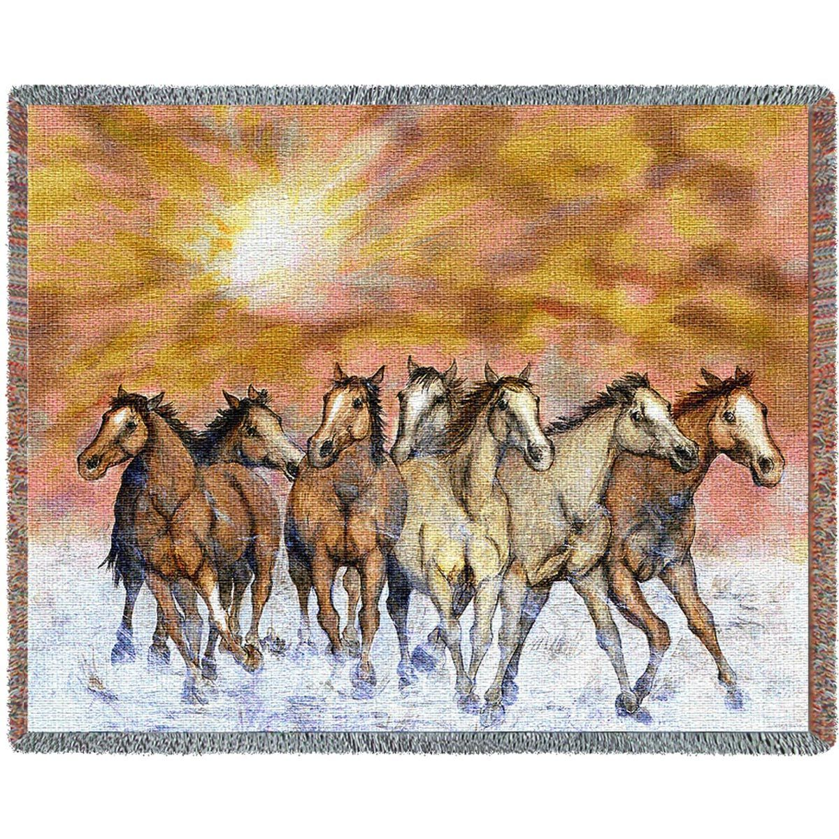 Sunset Run Blanket