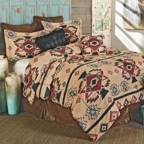 Sunset Trail Bed Set - King