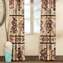 Sunset Trail Lined Drapes