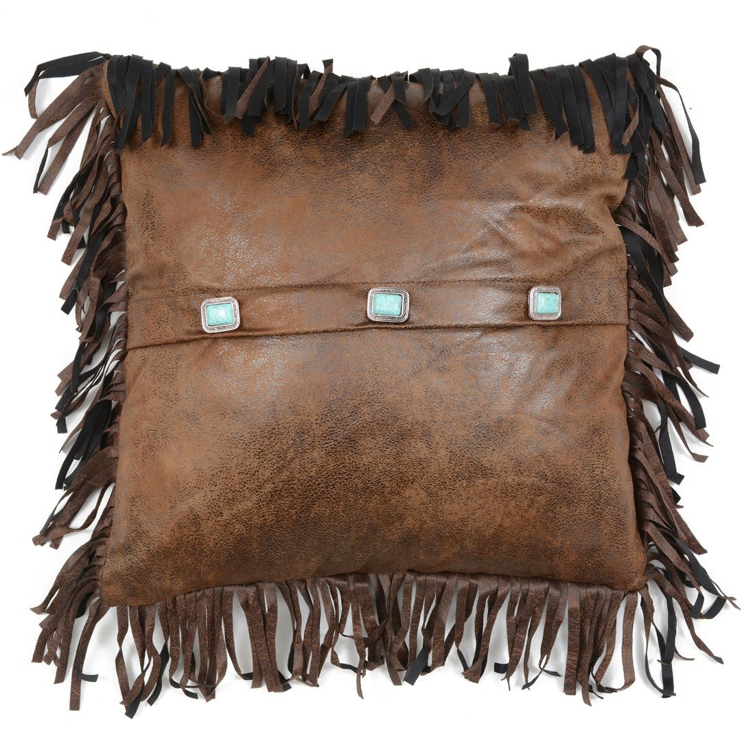 Wyoming Three Concho Pillow
